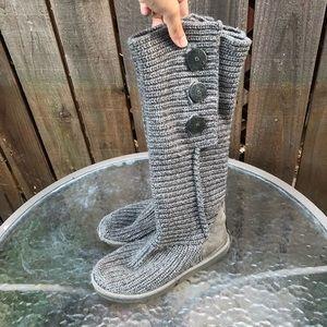 UGG Woven Gray Women's Boots
